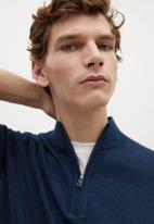 MANGO - Sweater tenp - blue