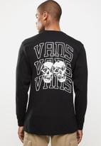 Vans - New varsity long sleeve tee - black
