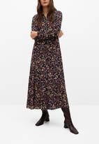 MANGO - Dress north - multi