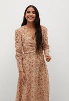 MANGO - Dress flo - multi