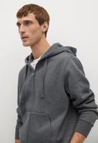 MANGO - Sweatshirt bady - dark grey