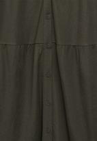 MANGO - Dress carmina - green