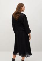 MANGO - Dress tiga - black