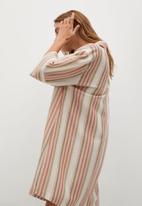 MANGO - Dress rayita-h - light beige