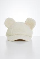 POP CANDY - Girls bear ears cap - cream