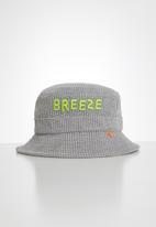 Rebel Republic - Embroidered bucket hat - grey