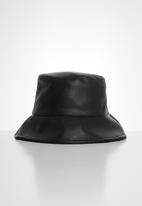 POP CANDY - Reversible bucket hat - black