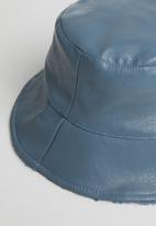 POP CANDY - Reversible bucket hat - blue