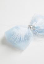 POP CANDY - Girls bow hair clip - blue