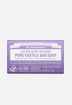 DR. BRONNER'S - Pure-Castile Bar Soap All-One Hemp Lavender