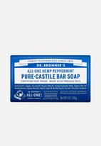 DR. BRONNER'S - Pure-Castile Bar Soap All-One Hemp Peppermint