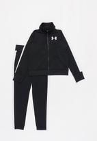 Under Armour - Em knit track suit - black & white