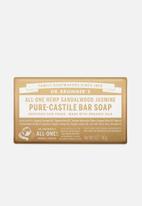 DR. BRONNER'S - Pure-Castile Bar Soap All-One Hemp Sandalwood Jasmine