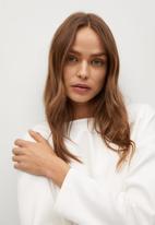 MANGO - Sweatshirt noa - white