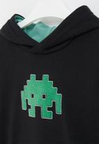 POP CANDY - Boys graphic printed sweatshirt - black