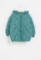 POP CANDY - Quilted puffer jacket - blue