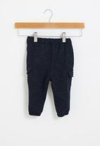 POP CANDY - Baby boys cargo jogger - navy