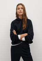 MANGO - Sweatshirt tammy - navy