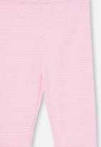 Cotton On - Huggie tights - cali pink gingham