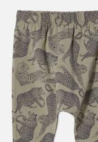 Cotton On - The legging - silver sage/charlie cheetah