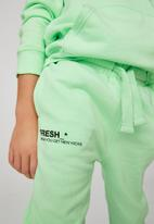 Cotton On - Marlo trackpant - washed spearmint/fresh