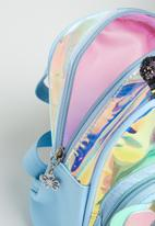 POP CANDY - Girls butterfly backpack - blue