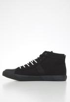JEEP - Peg high-top sneaker - black
