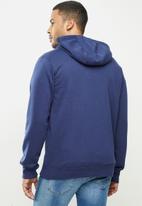 O'Neill - To the mountains zip thru hoodie - blue