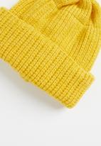 POP CANDY - Baby beanie - yellow