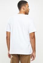 Bench - Bora short sleeve tee - white