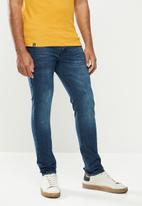 urban° - Mens urban denim jeans - blue