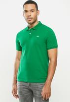urban° - Mens urban small logo golfer - green