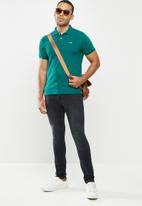 urban° - Mens urban small logo golfer - teal