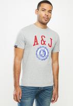 Aca Joe - Aca joe A&J T-shirt - grey