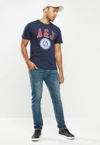 Aca Joe - Aca joe A&J T-shirt - navy