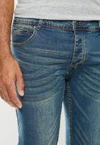 Aca Joe - Aca Joe styled skinny fit jeans - light blue
