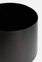 Sixth Floor - Cole planter - black