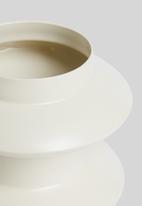 Sixth Floor - Ryker vase - cream