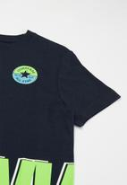 Converse - Short sleeve logo graphic t-shirt - navy
