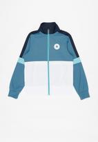 Converse - Converse colourblock tricot fz jacket - multi