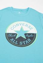 Converse - Converse block this way cp tee - light blue