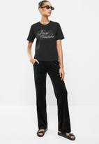 Juicy Couture - Midnight juicy T-shirt - black