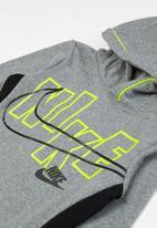 Nike - Nike glow pullover hoodie - grey