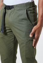 Superbalist - Osaka tapered utility pant - olive