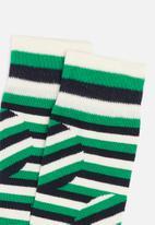 Happy Socks - Jumbo dot stripe socks - multi