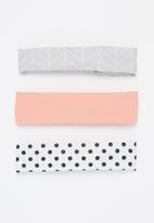POP CANDY - Girls 3 pack headbands - multi