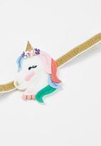 POP CANDY - Girls unicorn/rainbow hair clips - multi