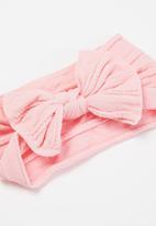 POP CANDY - Girls bow headband - pink