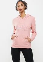 Aca Joe - Fleece pullover hoodie - pink