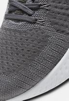 Nike - React infinity run flyknit 2 - particle grey/volt-iron grey-wild berry